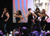 The Saturdays perform at the EA British Academy Children's Awards in 2008.
