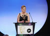 'Summerhill' writer Alison Hume accepts the Writer's Award in 2008.