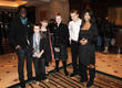 Me and My Movie nominees with Blue Peter Presenters Andy Akinwolere & Konnie Huq.