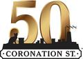 Coronation Street 50th Anniversary Logo