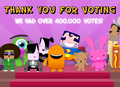 Thanks For Voting [Kids Vote]