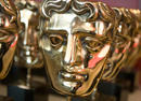 BAFTA masks wait to be presented at the British Academy Television Awards.