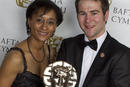 Best Actor Stuart Brennan With Suzanne Packer