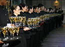 The Tattinger Champagne line-up at THe Orange British Academy Film Awards 2007