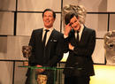 Benedict Cumberbatch & Matt Smith at the Television Awards in 2012.
