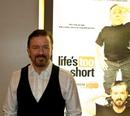 Ricky Gervais at the screening and Q&A of his new HBO series