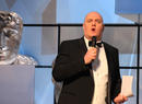 Host (and nominee) Dara O' Briain opens the show.