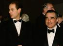 HRH Prince Edward and Martin Scorsese.