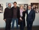 Jack Lechner with Producers Eric Bevan, Debra Hayward, and Cameron Macintosh
