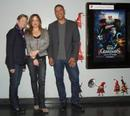 Director Peter Ramsey and producers Christina Ramsey and Nancy Bernstein