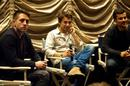 Director Bart Layton, Producer, Dimitri Doganis and Moderator Nigel Smith