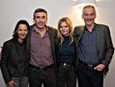 Producer Gabrielle Tana, Steve Coogan, Sophie Kennedy Clark and Novelist Martin Sixsmith