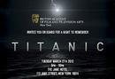 Titanic Screening and Q&A poster for BAFTA New York