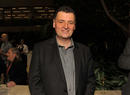 Steven Moffat at the Television Nominees Party 2012