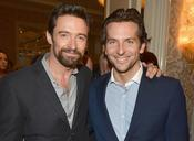 Hugh Jackman and Bradley Cooper