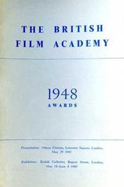 1948 Bafta Brochure