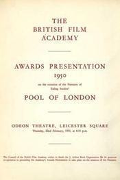 1950 Bafta Brochure