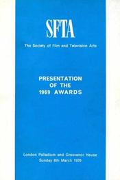 1969 Bafta Brochure
