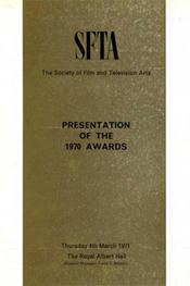 1970 Bafta Brochure