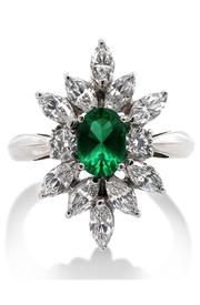 CARAT* evergreen ring