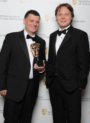 Steven Moffat és Mark Gatiss Rkn-5410-17537