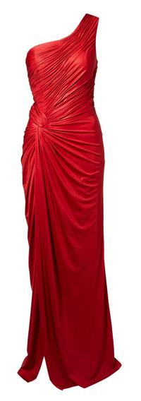 Biba Asymmetric One Shoulder Maxi Dress