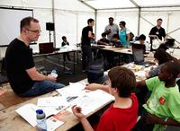 Game Design Workshop at Fuse London