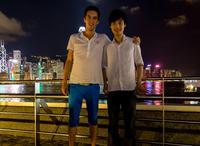 BAFTA Scholars Chu Wan Pin and Tian Ji