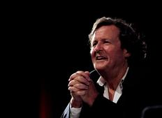 Sir David Hare answers questions about to his craft as a screenwriter. (Photography: Jay Brooks)