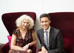 BAFTA Scholar Tian Ji with Anne Morrison