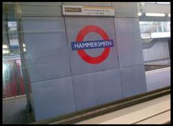 Tom Phipps Blog 03: Hammersmith