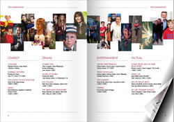 Children's Awards print programme spread 1