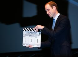 Prince William at Warner Bros