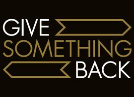 Give Something Back [logo]