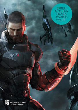 Games Brochure Cover 2013: Mass Effect 3