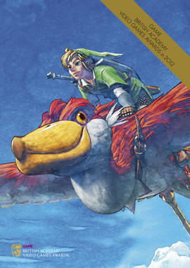 The Legend of Zelda: Skyward Sword Video Games Awards brochure cover