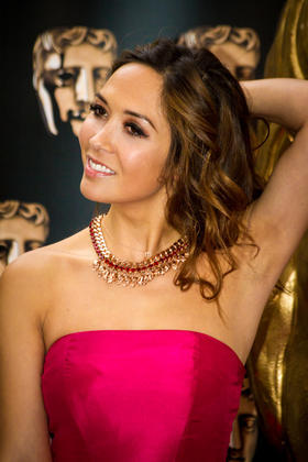 Myleene Klass on the red carpet