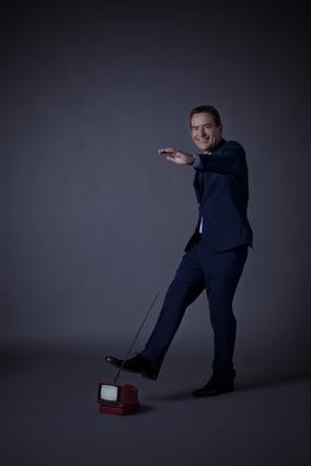 Television Awards Photo Shoot 2013: Jeff Stelling