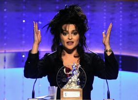 British Artist of the Year honoree Helena Bonham Carter