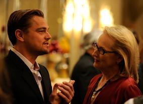 Leonardo DiCaprio and Meryl Streep