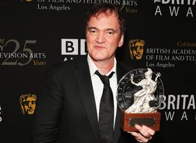 Renowned director Quentin Tarantino (Pulp Fiction, Reservoir Dogs, Kill Bill) was awarded the Excellence in Directing Britannia.