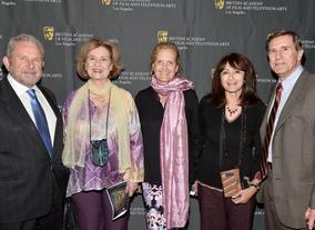 Gary Dartnall, Diane Baker, Deborah Kolar, Katy Haber and Donald Haber