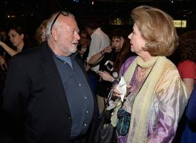 Jonathan Lynn and Diane Baker
