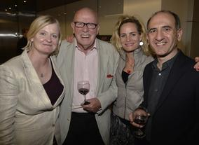 Armando Iannucci with Richard Wilson and guests.