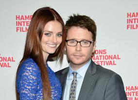 Lydia Hearst and actor Kevin Connolly attend the Hamptons International Film Festival.  (Photo by Eugene Gologursky/Getty Images for The Hamptons International Film Festival)