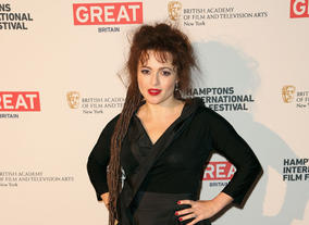 Actress Helena Bonham Carter attends the 21st Annual Hamptons International Film Festival on October 12, 2013 in East Hampton, New York. (Photo by Monica Schipper/Getty Images for The Hamptons International Film Festival)