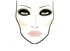 2012 Look 01 - Heavy on the Eyes