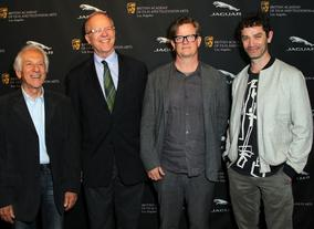 Special Jury Cinematographer Ousama Rawi, Variety's Tim Grey, Production Designer Alex McDowell and actor James Frain.
