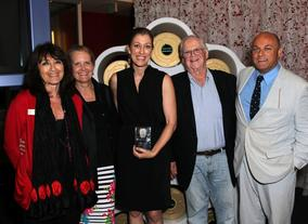 Katy Haber MBE, Deborah Kolar, Annie Silverstein, Paul Heller and Nigel Daly OBE