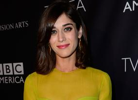 Actress Lizzy Caplan, star of Masters of Sex and New Girl